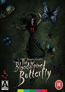 The Bloodstained Butterfly (1971) artwork