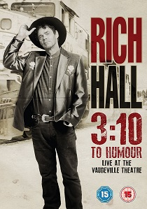 Rich Hall: 3:10 To Humour (2016) artwork