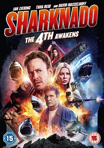 Sharknado: The 4th Awakens (2016) artwork