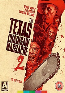 The Texas Chainsaw Massacre 2 (1986) artwork
