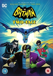 Batman Vs. Two Face (2017) artwork