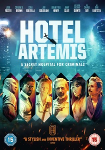 Hotel Artemis artwork