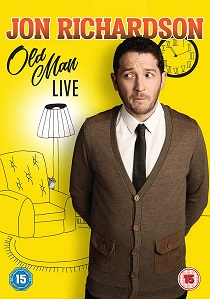 Jon Richardson: Old Man Live (2018) artwork