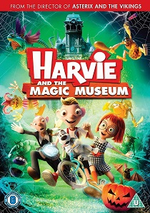 Harvie And The Magic Museum (2017) artwork
