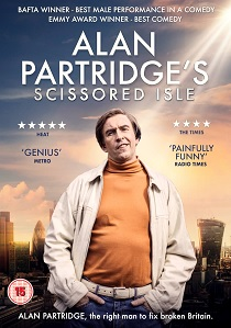 Alan Partridge: Scissored Isle (2016) artwork