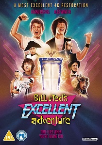 Bill & Ted's Excellent Adventure (1989) artwork