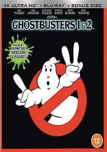 Ghostbusters and Ghostbusters 2 (1984) artwork