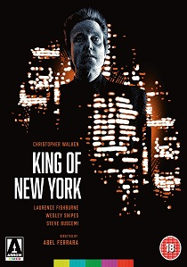 King of New York (1990) artwork
