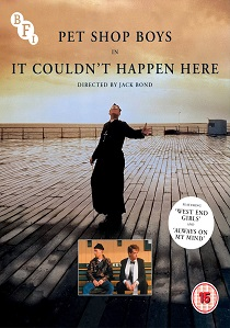 Pet Shop Boys: It Couldn't Happen Here (1987) artwork